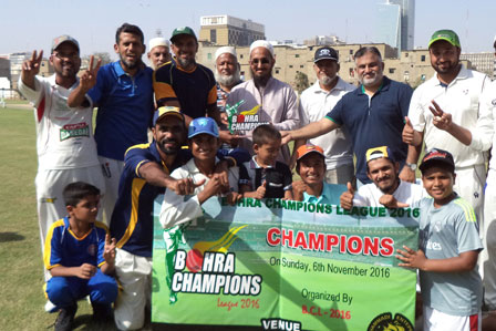 Winner Team  Bohra Cricket Club